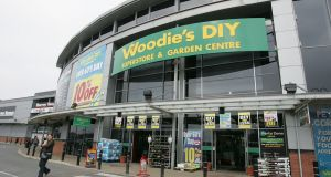 Woodie's DIY owner, Grafton Group, said its retail business experienced a strong start to the year. Photograph: Alan Betson/The Irish Times