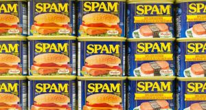 "A  Monty Python sketch featuring a menu full of spam with a chorus of Vikings singing its praises a la ""Spam, Spam, Spamety, Spam"" inspired the naming of these unwanted junk emails"