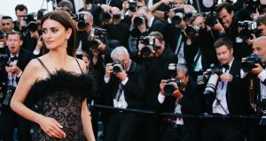 Penelope Cruz attends the screening of 'Everybody Knows', the opening film of this year's Cannes film festival. Photograph: Emma McIntyre/Getty Images