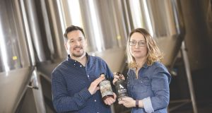 Sam and Maud Black of Black's Brewery and Distillery