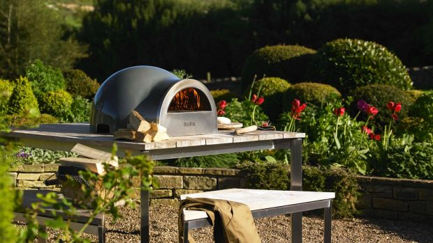 The Delivata pizza oven that will serve up light as air paper-thin-based pizza.