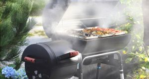 The Kentucky smoker offers a good charcoal barbecue and entry-level smoke box.