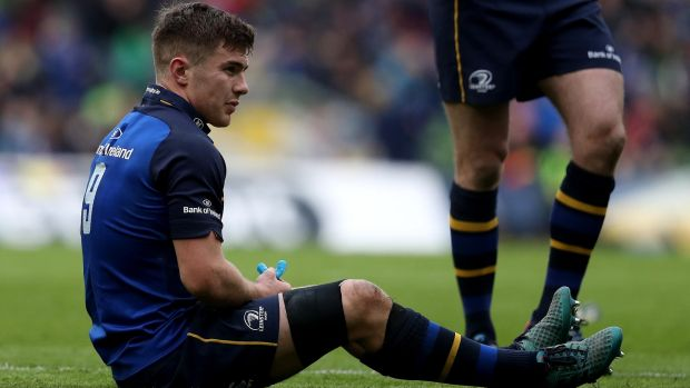 Luke Mc Grath has been carrying an ankle injury since the semi-final win over Saracens