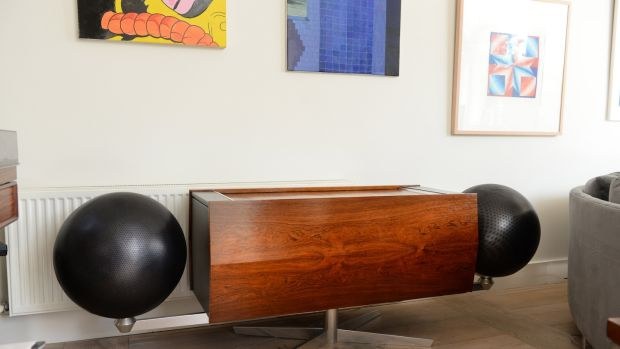 The Project G Clairtone stereo. Photograph: Dara Mac Dónaill