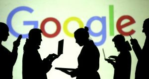 Google has banned all advertising in relation to the campaign on the Eighth Amendment. Photograph:  Reuters/Dado Ruvic