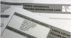 Ireland is one of the few countries without a permanent electoral commission to standardise voting registration rules. Photograph: Bryan O'Brien