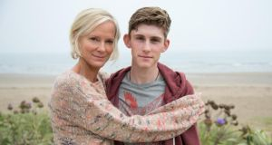 Innocent: Hermione Norris and Fionn O'Shea in the four-night crime thriller. Photograph: Steffan Hill/ITV