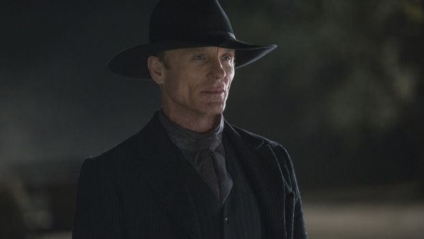 Ed Harris in Westworld. So popular now is the practice of fan speculation, that HBO staff reportedly scan Westworld subreddits just to assess their contents for proof of leaks or inside info. Photograph: John Johnson