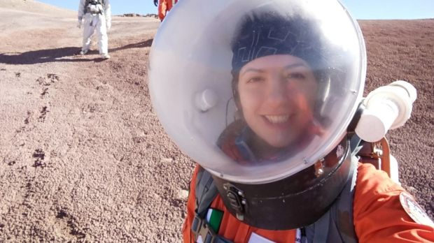 "Ilaria Cinelli: ""We are carrying out research and experimentation in some of the most isolated places on Earth, including the Mojave desert and Antarctica, to help gather data for a human mission to Mars"""