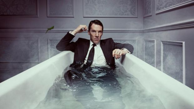 Patrick Melrose: Benedict Cumberbatch stars in the adaptation of Edward St Aubyn's novels. Photograph: Sky