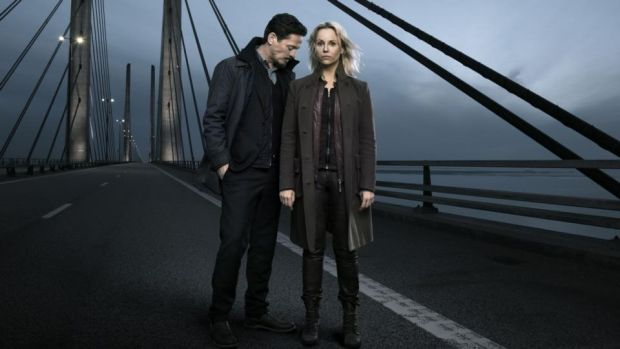 The Bridge: Thure Lindhardt and Sofia Helin star in the final series. Photograph: Karl Nordlund/BBC