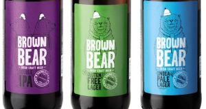 The Brown Bear range at Aldi includes an IPA, gluten-free lager and IPL