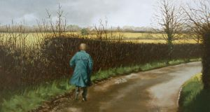 Martin Gale, Short Step, oil on canvas