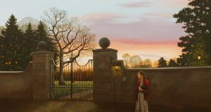Martin Gale, The Appointment, oil on linen