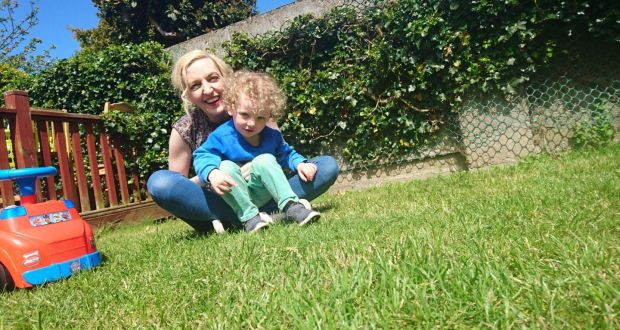 Jennifer and two-year-old Noah