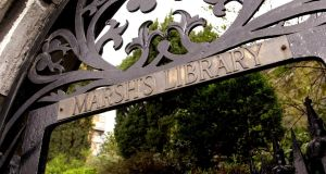 Marsh's Library: Hardened scholars know where it is, and have been poring over its contents since 1707. Photograph: Bryan O'Brien