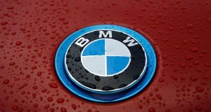 BMW has said 10,602 vehicles registered in the Republic are affected by a recall over a potential electrical fault.  Photograph: Reuters/Stefan Wermuth