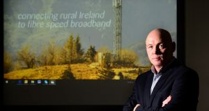 Sean Bolger, founder and chief executive of telecoms group Imagine. Photograph: Dara Mac Dónaill / The Irish Times