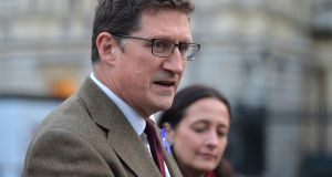 Green party leader Eamon Ryan said it was time to look at the 'emergency, brace yourself, we are about to crash' Brexit scenario. Photograph: Alan Betson/The Irish Times.