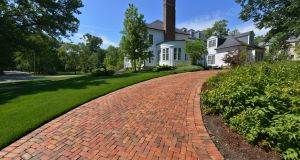 A paved driveway is harder to lay and more expensive, but very popular