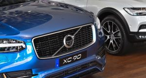 Volvo saw car sales rise 14 per cent to 147,407 units in the first quarter.