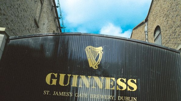 Guinness entrance, St James's Gate: Let's preserve these iconic buildings to the highest contemporary standards, and narrate the story of the past in diverse and imaginative ways.