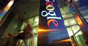 Google announced a €150 million expansion at its data centre in Dublin in a move that brings the company's total investment in the Republic since 2003 to €1 billion. Photograph: Paul McErlane/Bloomberg via Getty Images