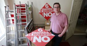 John McGuirk, communications director of the Save the 8th campaign. Photograph: Nic Bradshaw.