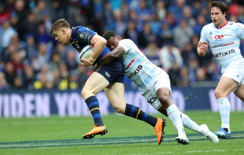 Garry Ringrose - Smothered by uncompromising, heavy defence until the very, very end when Leinster dug deep into their resolve and there was Ringrose spinning free to carry into the Parisians 22. Rating: 7