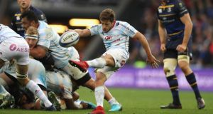 Teddy Iribaren had a fine game for Racing 92. Photograph: David Rogers/Getty