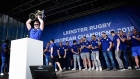 Triumphant Leinster meet their fans at homecoming event in Dublin