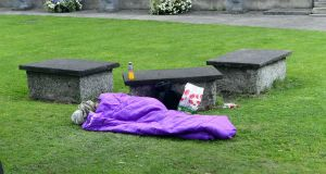A total of 578 people were removed from the March homeless statistics. Photograph: Cyril Byrne/The Irish Times