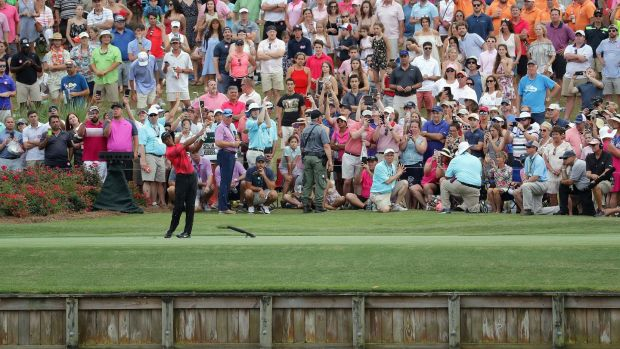 Tiger Woods: Surges on weekend into T11