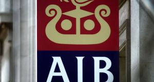 Last year AIB set up a new holding company to meet new European rules on minimising taxpayers' exposure to ailing lenders in future. Photograph: Paul McErlane/Reuters