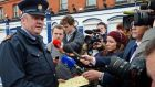 Supt David Taylor speaking to the media at the scene of a shooting in Dublin in 2013. File photograph: The Irish Times