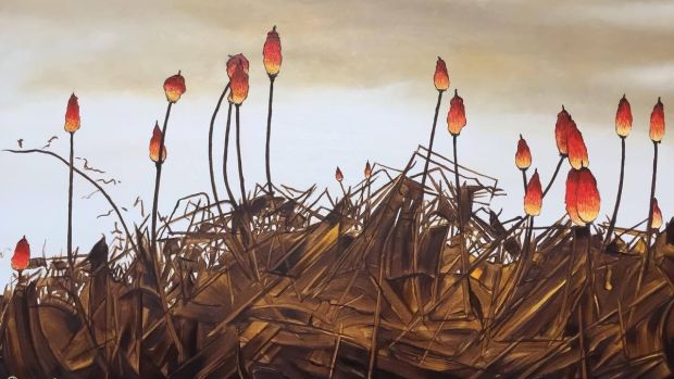 Red Hot Pokers by Pete Dunne