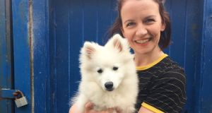 Eiméar Cooney from Co Meath works  in Aberdeen, Scotland as an Occupational Therapist. Her dog is called Angus