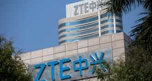 Donald Trump's reprieve for telecoms group ZTE has paved the way for a Chinese delegation's arrival in Washington for at least three days of talks aimed at averting a trade war. Photograph: EPA