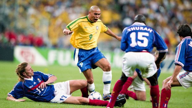 Ronaldo was never anywhere near his potential in the final. Photo: Getty Images