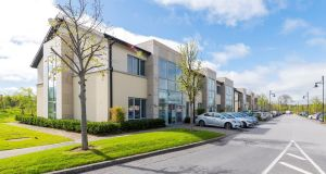 The multi-let office investment at Citywest Business Campus in Dublin produces rent of €410,342 which reflects a net initial yield of 7 per cent