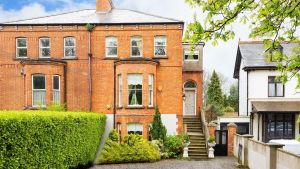 55 Charleston Road:  agent is seeking €1.7million for the 262sq m (2820sq ft) four-bed with three reception rooms, a kitchen/breakfast room and wide, long, sheltered rear garden.