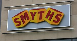 Group sales at the existing Smyths 110-strong network are nearing €600 million, and expansion puts the €1 billion barrier in Smyths' sights. Photograph: Frank Miller