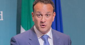 Taoiseach Leo Varadkar: Fianna Fáil has criticised him for his absence throughout the CervicalCheck controversy. Photograph: Gareth Chaney Collins