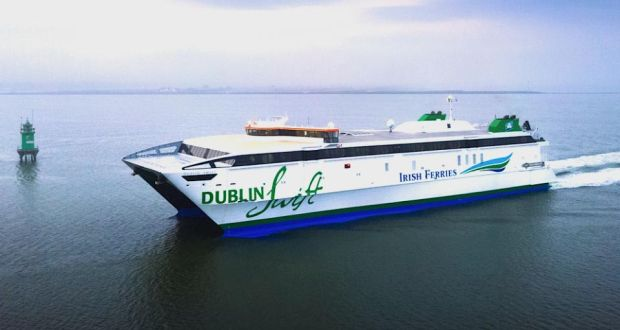 Ferry To Ireland From Holyhead >> First Look Dublin Swift The New Fast Ferry To Holyhead