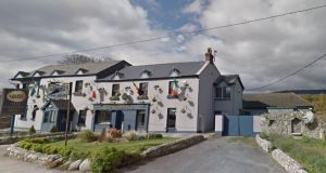 The Golden Ball pub in Kilternan. The view of the Dublin mountains from Enniskerry Road is protected under the Kilternan local area plan. Image: Google Maps