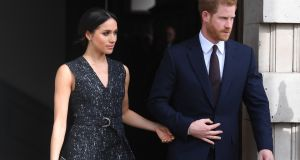 Prince Harry and Meghan Markle will marry on Saturday at St George's Chapel in Windsor Castle in a ceremony that has sparked huge global media interest. Photograph: Victoria Jones/PA Wire