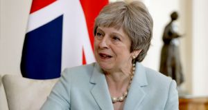 British prime minister Theresa May said there were  flaws in both  customs models being considered by the government. Photograph: AP