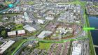 The Sandyford site, which extends to 5.26 acres on Blackthorn Avenue adjacent to Sandyford Luas stop, is on the market through CBRE