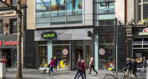 new concept 81151 6d93f Schuh shop on O'Connell Street goes on sale for €8m