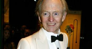 Writer Tom Wolfe arrives at Time magazine's 100 most influential people dinner in New York, US, April  2005. File photograph: Jeff Christensen/Reuters
